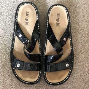 Alegria strap sandals